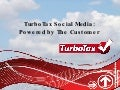 Turbo Tax & Social Media