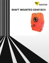 Shaft mounted gearbox from Kavitsu