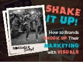 Shake up your marketing with visuals   10 brands share what works