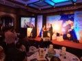 Sharad mathur   receiving the 50 Most Influential Digital media professional Award