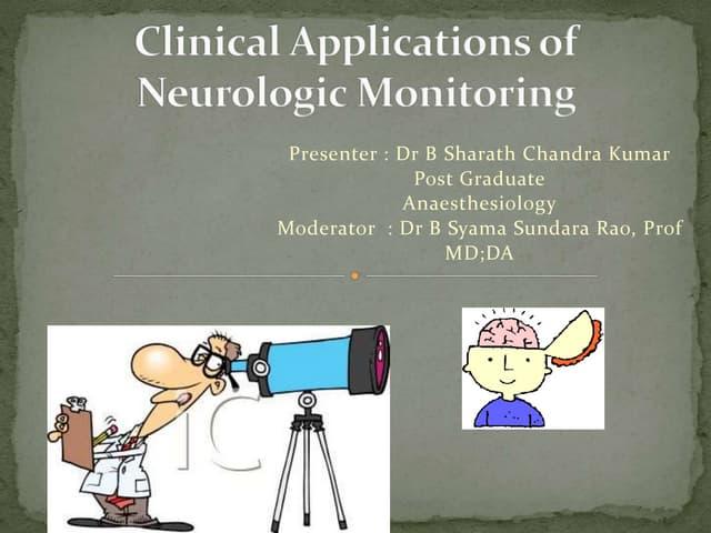 Sharath neuro monitoring