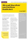 Microsoft SharePoint 2010 Readiness Healthcheck