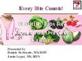 Every Bite Counts! Nutrition Tips for Breast and Ovarian Cancer