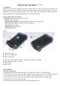 High definition Bathroom Shaver camera user guide (ey-psc0116).spy shaver camera