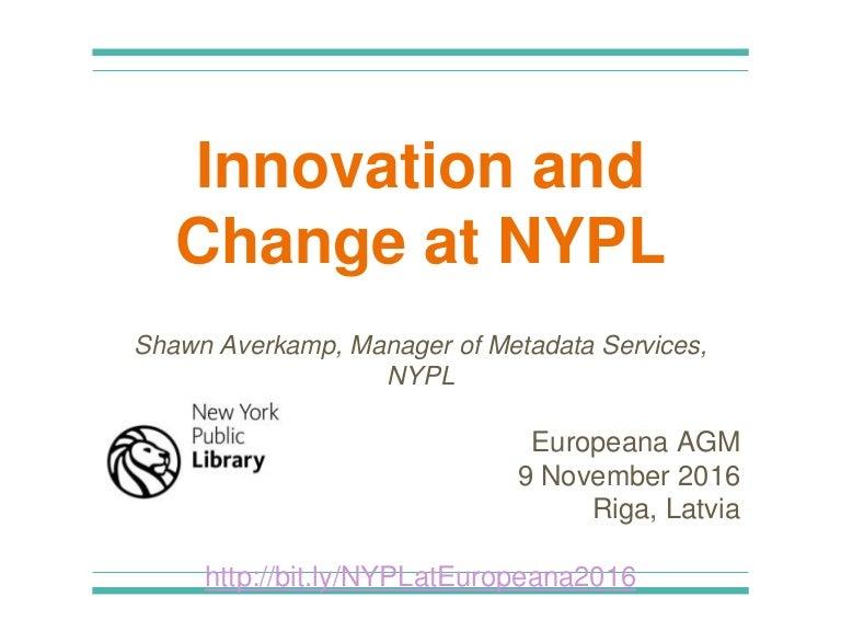 fade9e60a1d Europeana Network Association AGM 2016 - 9 November - Speaker Shawn A…