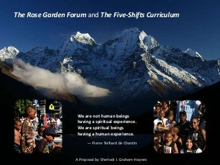 The Rose Garden Forum and the Five Shifts - The Work of Sherlock I. Graham-Haynes