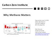 Why Methane Matters: The Need for World-wide Monitoring of Methane