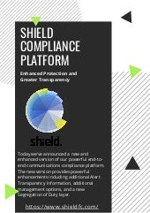 Shield Compliance Platform   Enhanced Protection and Greater Transparency