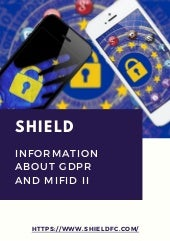 Shield for Information about GDPR and MiFID II