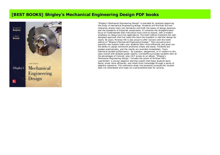 Best Books Shigley S Mechanical Engineering Design Pdf Books