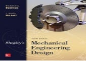 [*PDF/Book]->Download Shigley's Mechanical Engineering Design By Richard G. Budynas Book On Kindle