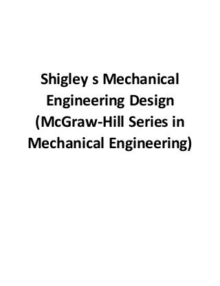 'shigley design' on SlideShare