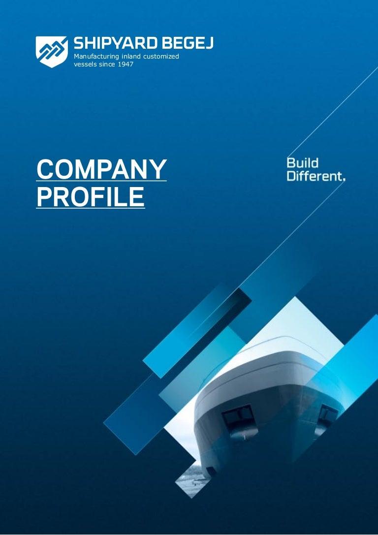 Shipyard Begej Company Profile