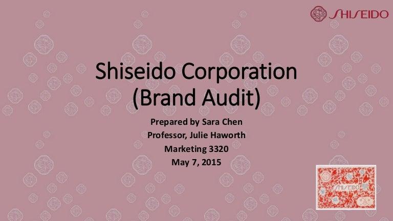 Shiseido Brand Audit