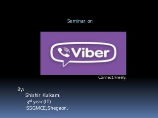Shishir's on viber