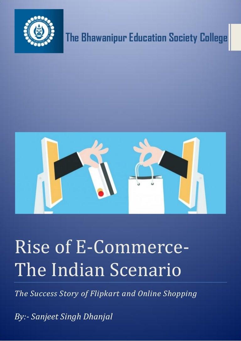 E-commerce project in brief pdf