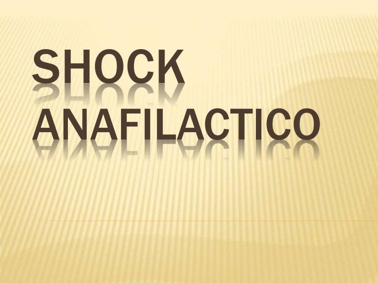choque anafilactico tratamiento pdf