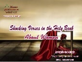Shocking verses in_the_holy_book_about_women _