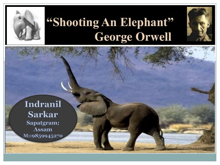 discussing human nature in shooting an elephant by george orwell This feature is not available right now please try again later.