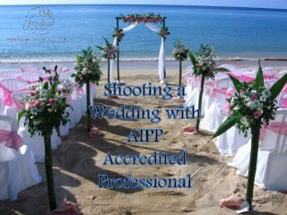 Shooting a Wedding with AIPP Accredited Professional
