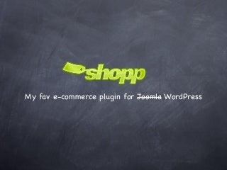 WordPress Shopp Plugin Review