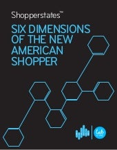 Shopperstates: Six Dimension of the New American Shopper