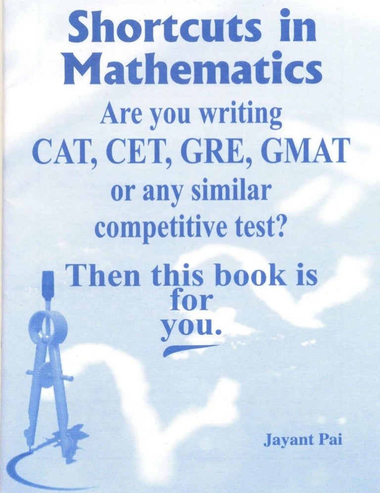 Shortcuts in mathematics for cat cet gre gmat or any similar comp fandeluxe Image collections