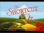 The Shortcut to Oz: Lessons Learned on 3 Content Journeys — Lauren Moler, Alex Hunter and Jessica Pease