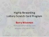 scratch cards winning opportunities