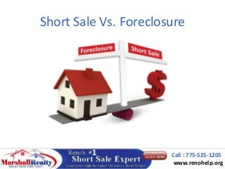 Short Sale vs Foreclosure in Reno NV