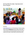 Shri Ram Global Pre School - Play School in DLF Phase 3 Gurgaon