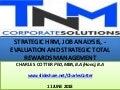 Strategic HRM, Performance Advising, Job Analysis and Evaluation