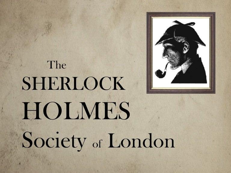 Afbeeldingsresultaat voor sherlock holmes society