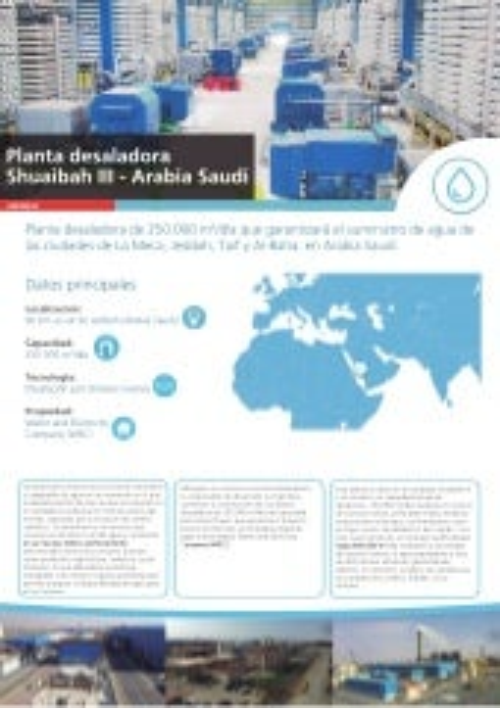 Factsheet Shuaibah