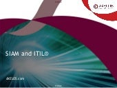 SIAM and ITIL® - AXELOS Webinar