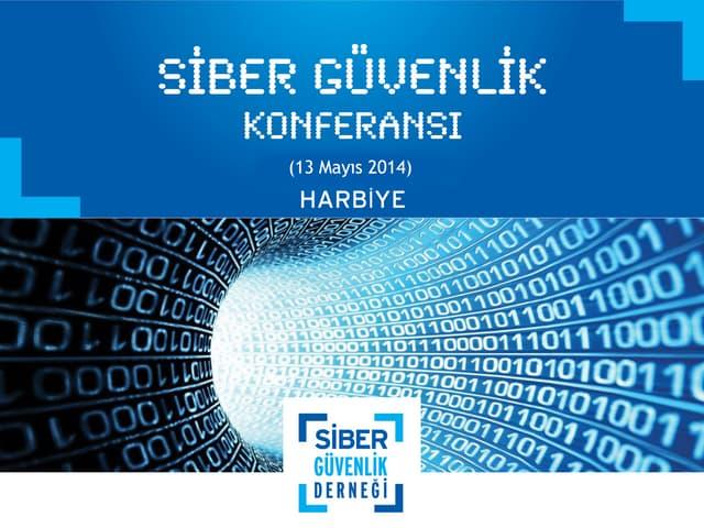 Yönetilmeyen Hiçbir Sistem Güvende Değildir! - Osman Demircan #SiberGuvenlikKonferansi 14.05.14