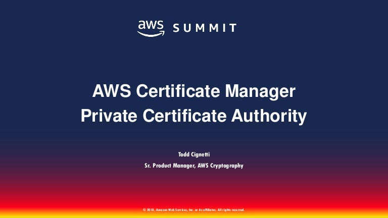 Sid305 Aws Certificate Manager Private Ca