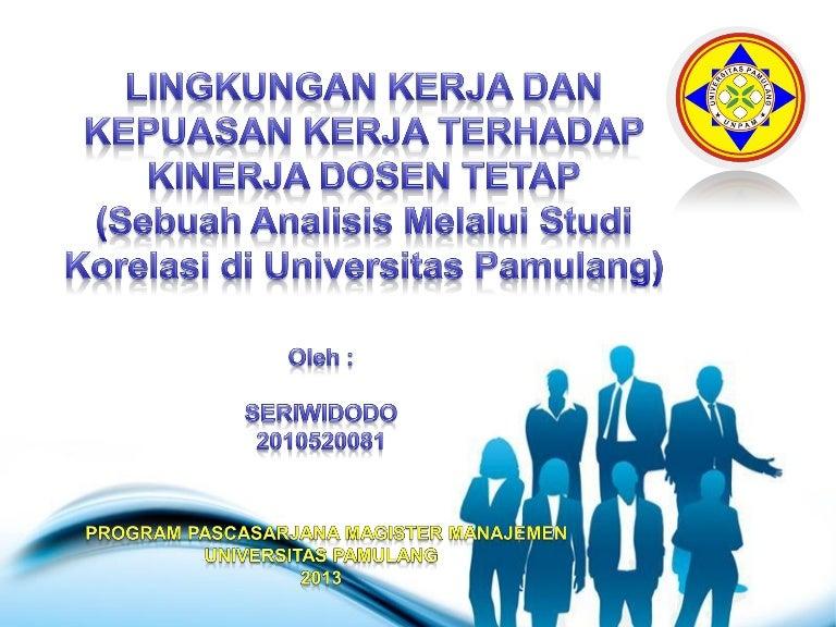 Contoh Skripsi Msdm Universitas Pamulang
