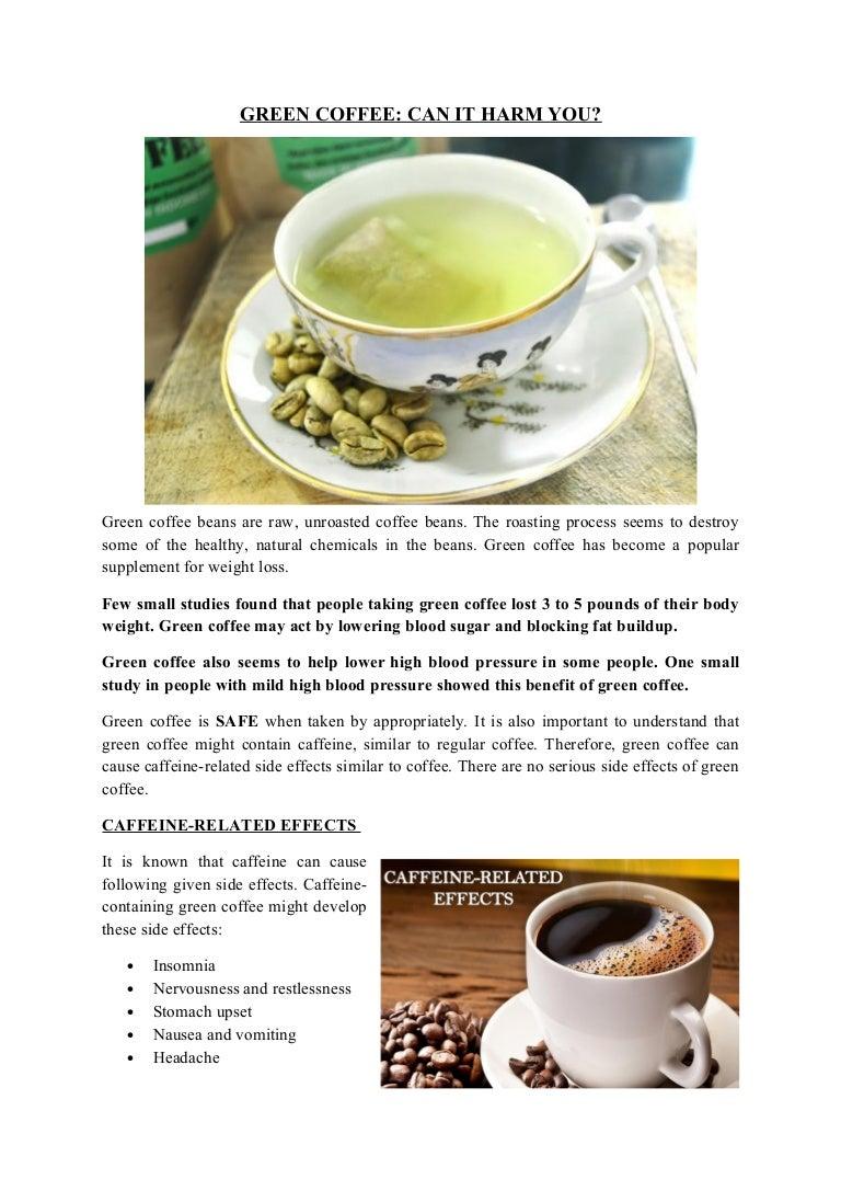 Side Effects Of Green Coffee