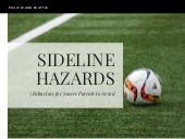 Sideline Hazards: 5 Behaviors for Soccer Parents to Avoid
