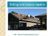 Siding and stucco repairs