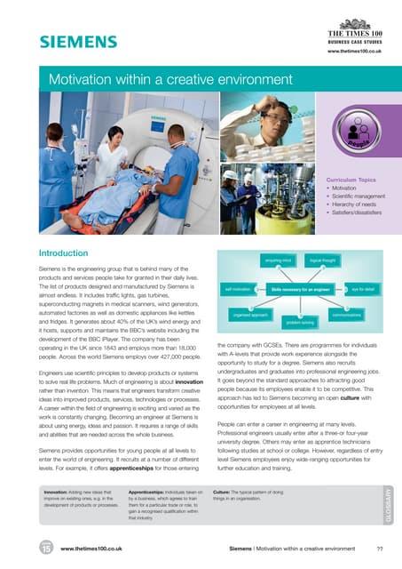 Open innovation at siemens case study analysis apa