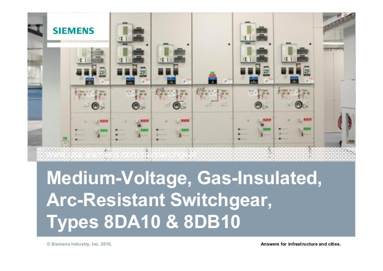 Siemens Mv Gis Switchgear