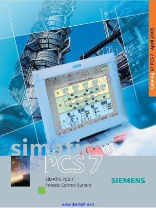 Siemens simatic simatic pcs 7 2