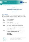 Legislative drafting workshop programme 26 May 2014 in English