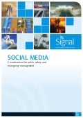 Signal - social media, considerations for public safety and emergency management