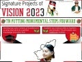 Signature Projects of Vision 2023