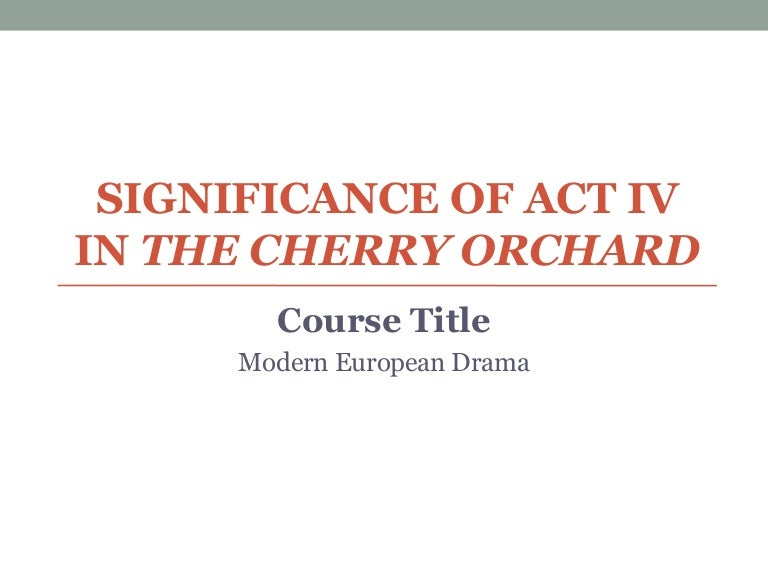 modern european drama