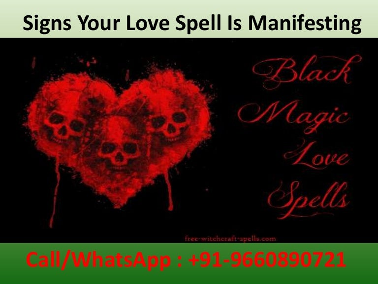 Spell love signs of a are what the Symptoms a