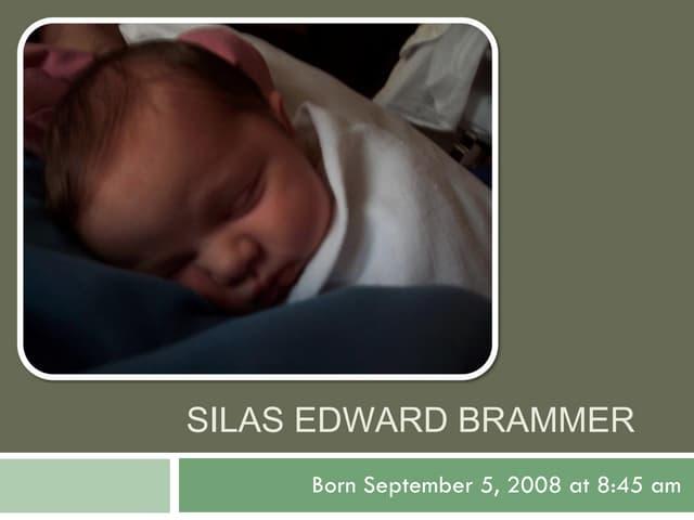 Silas Edward Brammer